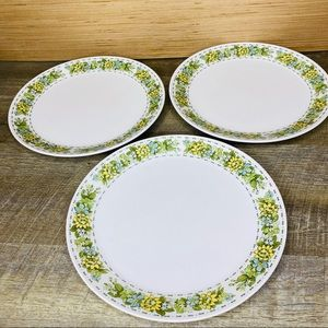 Set of 3 Vintage Noritake Springfield dinner plate